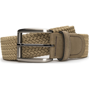 Accesorios textil Hombre Cinturones Nae Vegan Shoes BeltPrat_Camel Beige