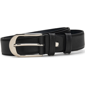Accesorios textil Mujer Cinturones Nae Vegan Shoes BeltSils_Black Negro