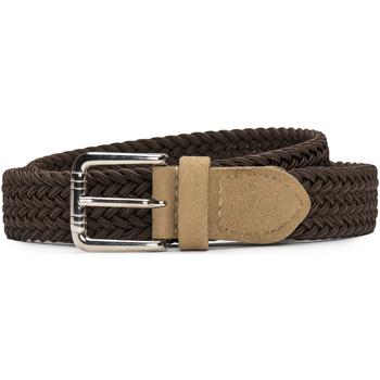 Accesorios textil Mujer Cinturones Nae Vegan Shoes BeltVila_Brown Marrón