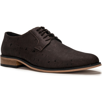 Zapatos Hombre Derbie Nae Vegan Shoes Jake_Cork Marrón
