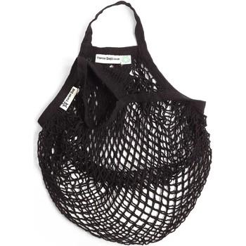 Bolsos Bolso shopping Nae Vegan Shoes Turtle_Bag_Black Negro