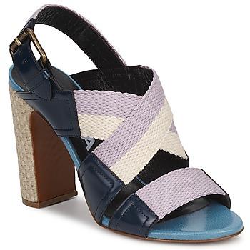 Zapatos Mujer Sandalias Rochas NASTR Negro / Violeta / Crudo