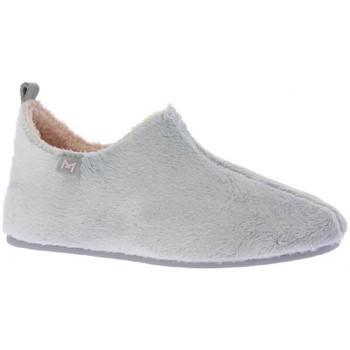 Zapatos Mujer Pantuflas Macarena ANAIS46MH ZAPATILLA DE CASA Gris Gris