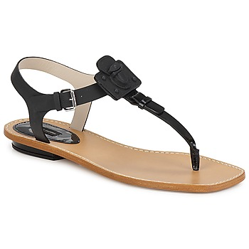 Zapatos Mujer Sandalias Marc Jacobs CHIC CALF Negro