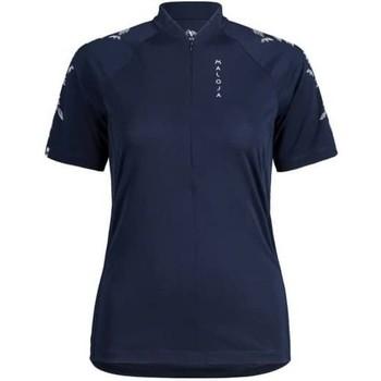 textil Camisetas manga corta Maloja CuragliaM. All Mountain 1/2 Azul