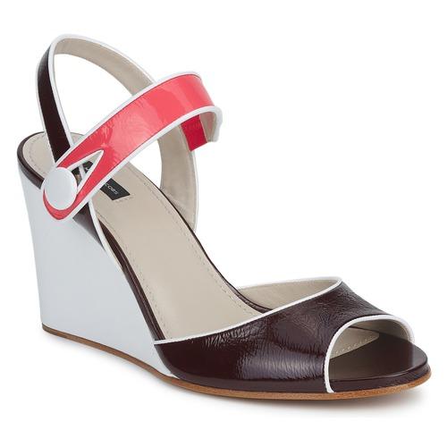 Zapatos Mujer Sandalias Marc Jacobs VOGUE GOAT Burdeo / Rosa