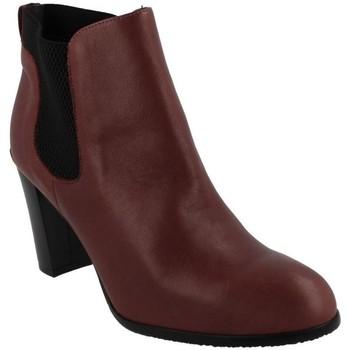 Zapatos Mujer Botines Riva Di Mare 261-36605 BURDEOS Rojo