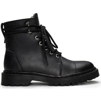 Zapatos Botas de caña baja Nae Vegan Shoes Charlie_Black Negro