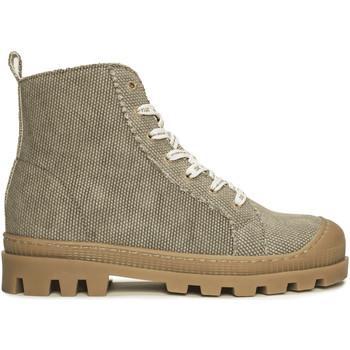 Zapatos Mujer Botines Nae Vegan Shoes Noah_Green_OrgCot Verde