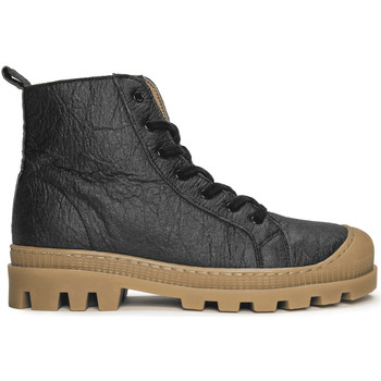 Zapatos Botas de caña baja Nae Vegan Shoes Noah_Pinatex_Black Negro