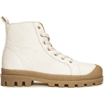 Zapatos Botas de caña baja Nae Vegan Shoes Noah_Pinatex_White Blanco