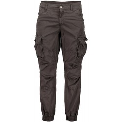 textil Hombre Pantalón cargo Scout Pantalones  Cargo Hombre Azul (pnt1389-lead) Gris