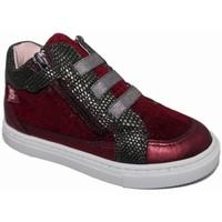 Zapatos Niña Zapatillas altas Garvalin 4016 Burdeo