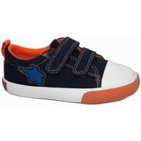 Zapatos Niños Zapatillas bajas Garvalin 7292 Azul