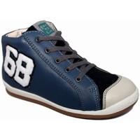 Zapatos Niño Zapatillas altas Garvalin 3715 Azul