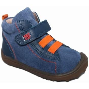 Zapatos Niño Botas de caña baja Garvalin 3780 Azul