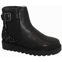 Zapatos Niña Botines Garvalin 7082 Negro