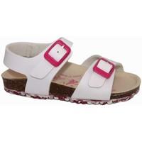 Zapatos Niña Sandalias Garvalin 7785 Blanco