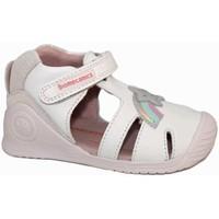 Zapatos Niña Sandalias Biomecanics 7641 Blanco
