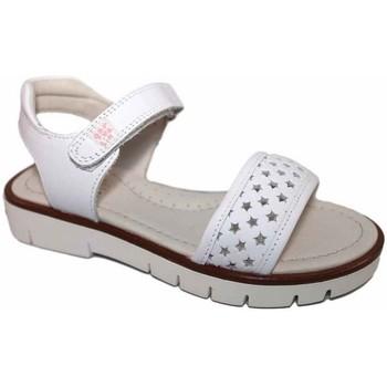 Zapatos Niña Sandalias Garvalin 4552 Blanco