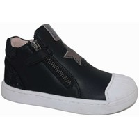 Zapatos Niña Zapatillas altas Garvalin 7104 Negro