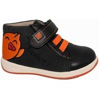 Zapatos Niño Zapatillas altas Garvalin 8491 Gris