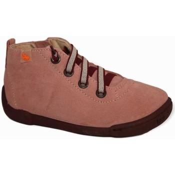 Zapatos Niña Botas de caña baja Vulladi 7215 Rosa