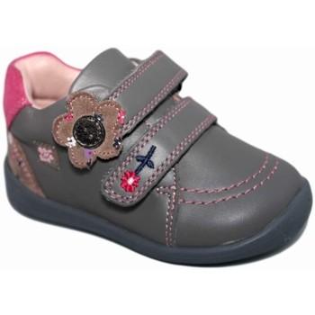 Zapatos Niña Zapatillas bajas Garvalin 3708 Gris