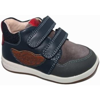 Zapatos Niño Zapatillas altas Garvalin 5229 Azul