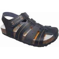 Zapatos Niño Sandalias Kickers 2398 Negro