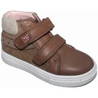 Zapatos Niña Zapatillas altas Garvalin 4007 Marrón