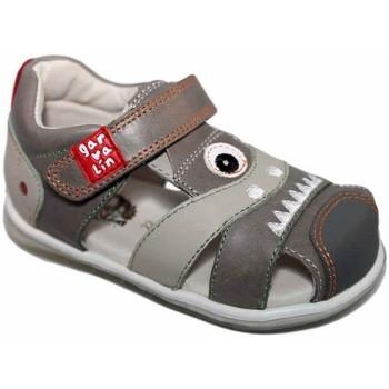 Zapatos Niño Sandalias Garvalin 4888 Gris