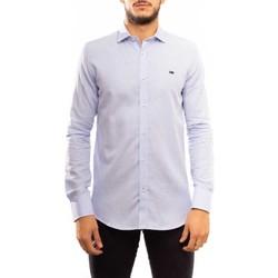 textil Hombre Camisas manga larga Klout CAMISA SLIM OXFORD Azul