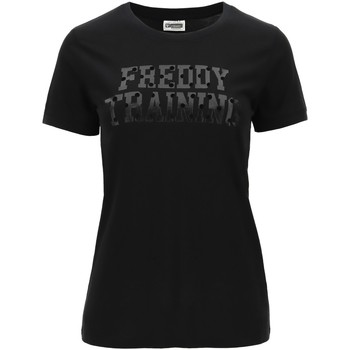 textil Mujer Camisetas manga corta Freddy - T-shirt nero F0WTRT1-N NERO