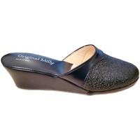 Zapatos Mujer Zuecos (Mules) Milly MILLY4000blu blu