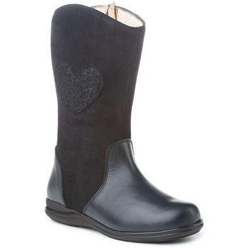 Zapatos Niña Botines Cbp - Conbuenpie Botas de piel para niña by CBP Bleu