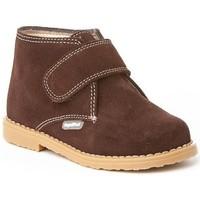 Zapatos Niña Botines Cbp - Conbuenpie Botines Safari de piel by CBP Marron