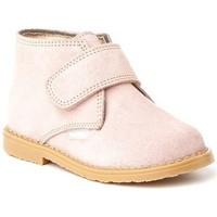 Zapatos Niña Botines Cbp - Conbuenpie Botines Safari de piel by CBP Rose