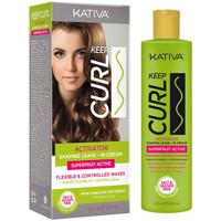 Belleza Mujer Fijadores Kativa Keep Curl Activator Leave-in Cream  200 ml