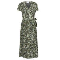 textil Mujer Vestidos largos Betty London OMADAM Negro / Multicolor