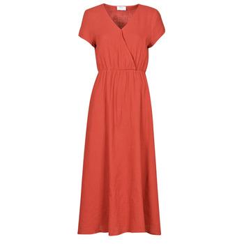 textil Mujer Vestidos largos Betty London ODAME Terracota