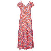 textil Mujer Vestidos largos Betty London ODE Rojo / Multicolor