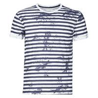 textil Hombre Camisetas manga corta Yurban OLORD Marino / Blanco