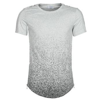 textil Hombre Camisetas manga corta Yurban OLORD Gris / Negro