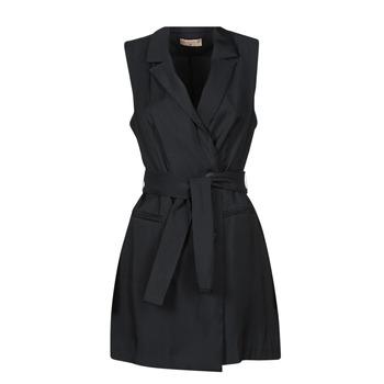 textil Mujer Vestidos cortos Moony Mood OLALA Negro