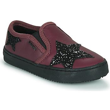 Zapatos Niña Zapatillas bajas Geox J KALISPERA FILLE Violeta