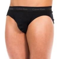 Ropa interior Hombre Braguitas Calvin Klein Jeans Slip Calvin Klein Negro