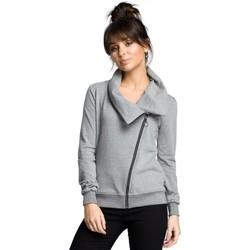textil Mujer Sudaderas Be B071 Sudadera con cremallera - gris