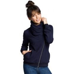 textil Mujer Sudaderas Be B071 Sudadera con cremallera - azul marino