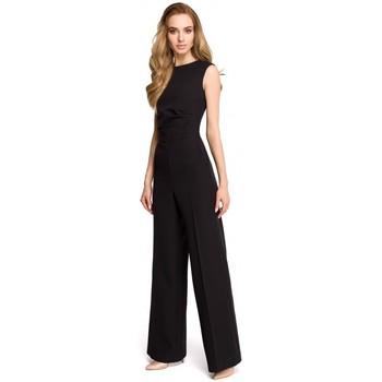 textil Mujer Monos / Petos Style S115 Mono de pierna ancha - negro